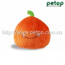 PT2016 Pumpkin Crazy Ball Pet Dog Toy