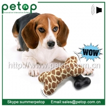 2015 New Battery Operated Eco-friendly Cheap Bone Dog Toys