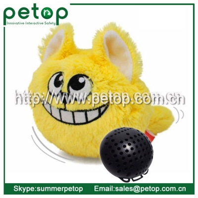 Electronic Plastic Crazy Bouncer Ball Toy for Dog and Cat